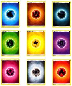 100 Energy kaarten