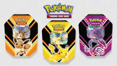 Pokémon V Powers Tin Eevee Pikachu Eternatus - Pokémon Kaarten