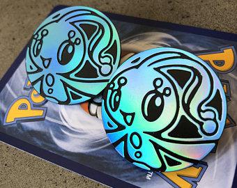 Pokemon Manaphy Collectible Coin (Blue Shiny Holofoil)