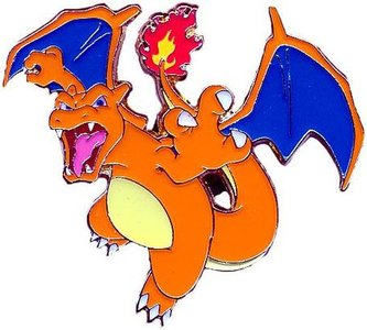 Charizard Collector's Pin