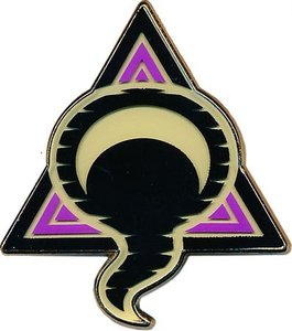 Ghost Badge Collector's Pin