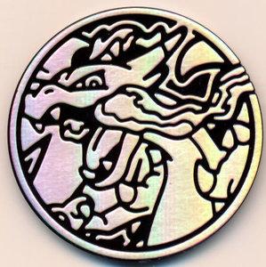 Pokemon MEGA Charizard Collectible Coin (Silver)