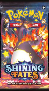 Nieuw: Pokémon Kaarten Shining Fates Booster Pack (10 kaarten)