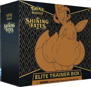 Nieuw: Sword & Shield Shining Fates - Elite Trainer Box inclusief Eevee VMAX