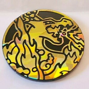 Pokemon Charizard VMAX Collectible Coin (Gold)
