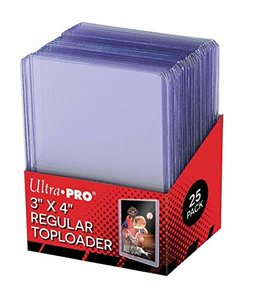 Toploaders transparent Clear (inclusief Pro-Fit sleeves)