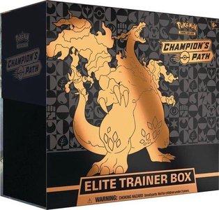 Nieuw: Sword & Shield Champion's Path Elite Trainer Box inclusief Charizard V Full Art