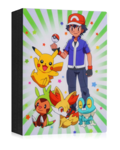 Ash, Pikachu & Friends verzamelmap