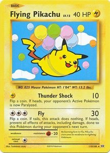 Flying Pikachu - 110/108 - Secret Rare