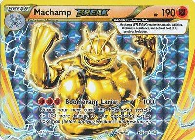 Machamp Break Rare
