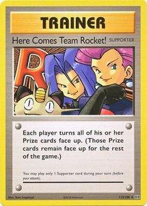 Here Comes Team Rocket! - 113/108 - Secret Rare