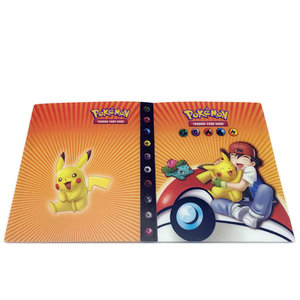 Pikachu & Ash verzamelmap