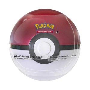 Nieuw: Poké ball Tin [factory sealed] incl 3 booster packs + munt