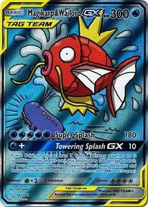 Magikarp & Wailord GX (TAG TEAM) - Ultra Zeldzame Pokémon kaart