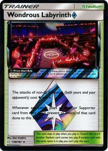 Wondrous Labyrinth Prism Star - 158/181 - Holo Rare
